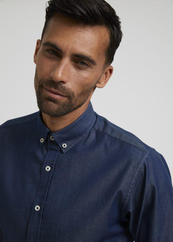 Blue Classic Denim Shirt