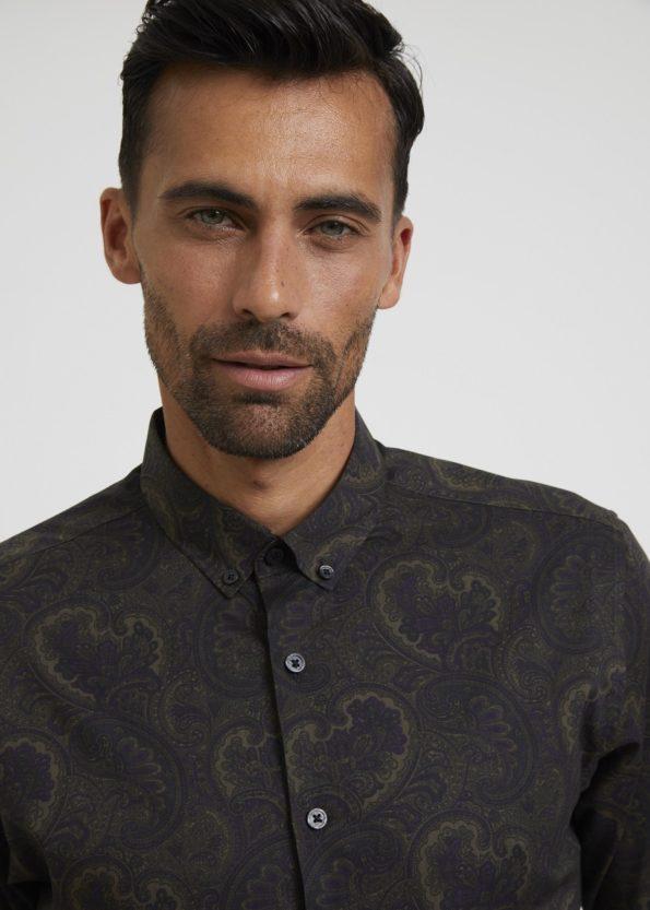 Paisley Printed Shirt